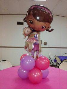 Centros de mesa de la doctora juguetes