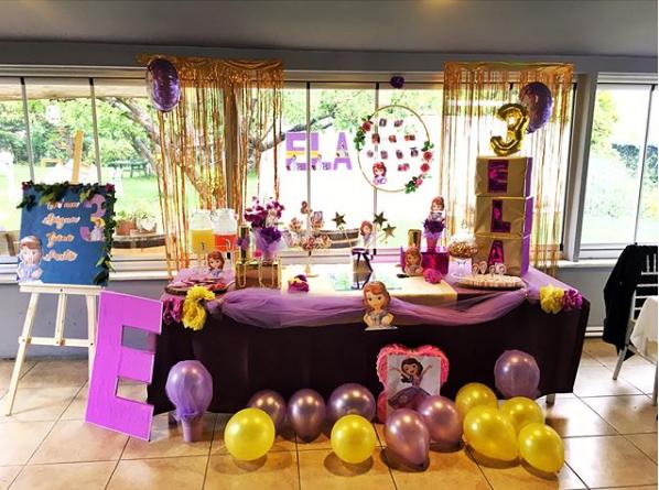 Ideas para decorar una fiesta de princesita sofia