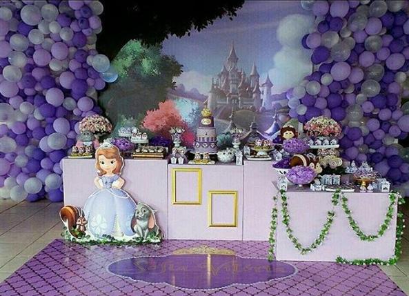 Ideas para fiesta de princesita sofia