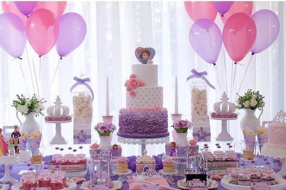 Ideas para fiesta de princesita sofia - Decoracion cumpleanos princesas ...