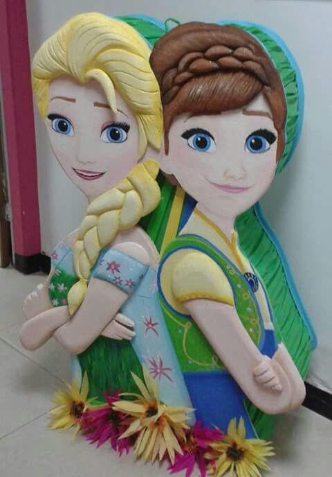 Piñatas de frozen fever