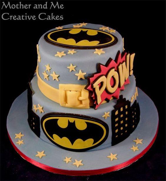 Pasteles Para Fiesta De Batman 16 Decoracion De