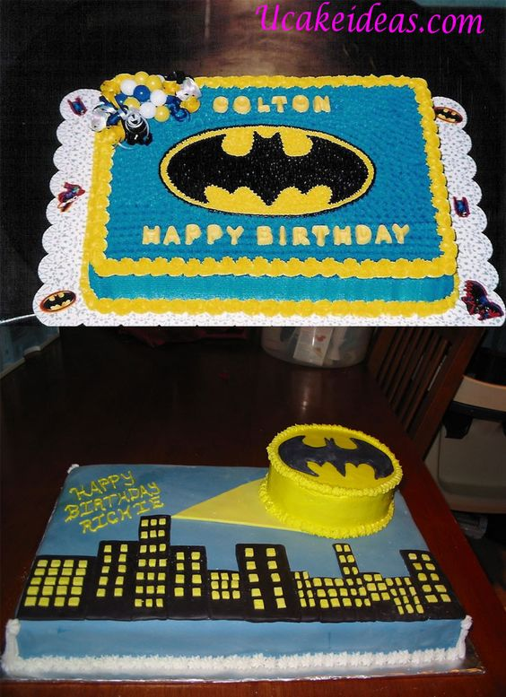 Pasteles Para Fiesta De Batman 3 Decoracion De Fiestas