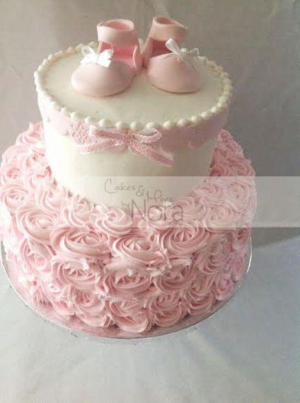 Charming Pasteles Para Baby Shower De Niña (17)