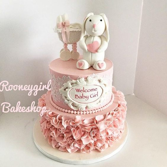 Pink Whale Cake