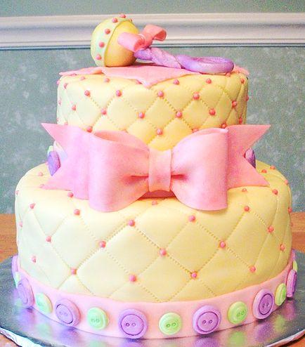Pasteles Para Baby Shower De Niña (2)