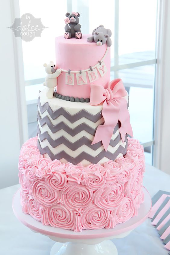 Nice ... Pasteles Para Baby Shower De Niña | Cake. Updated: ...