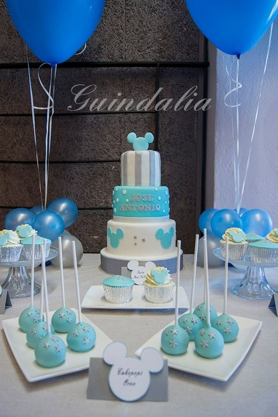 Pasteles para baby shower de nino pictures to pin on - Decoracion para baby shower de nino ...