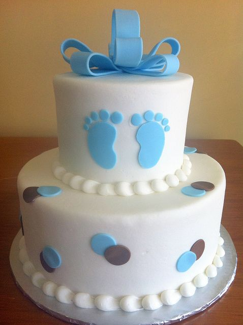 Pasteles Para Baby Shower De Ni 241 O 2 Decoracion De