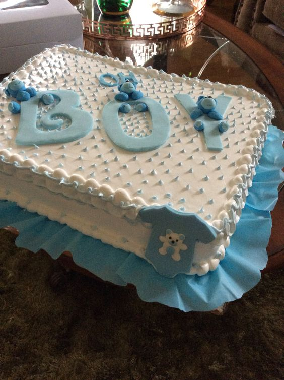 Pasteles Para Baby Shower De Nino 8 on shimmer shine
