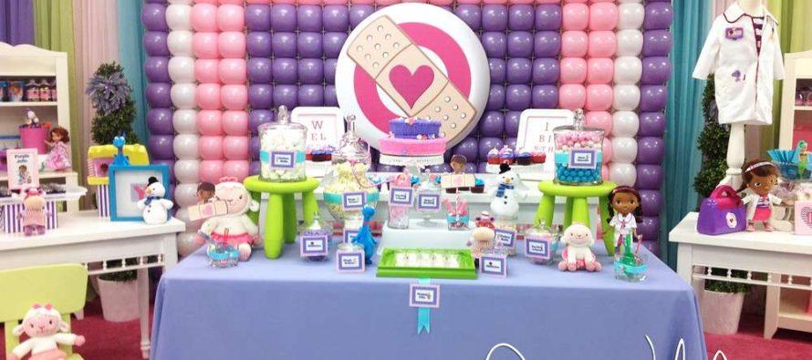 Ideas para cumpleaños de doctora juguetes