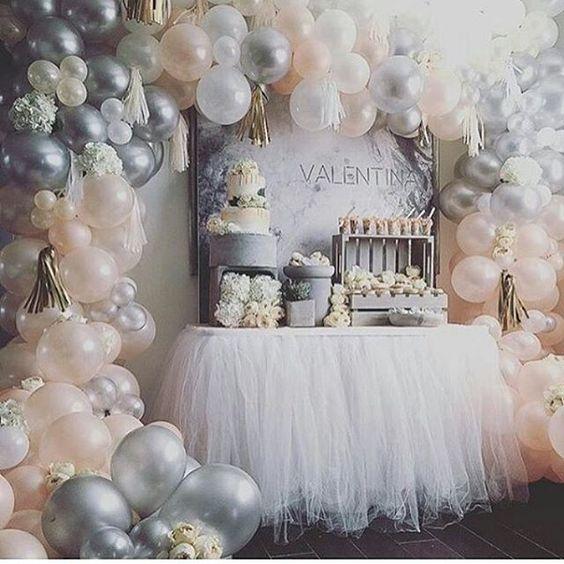 Decoración de fiestas con globos