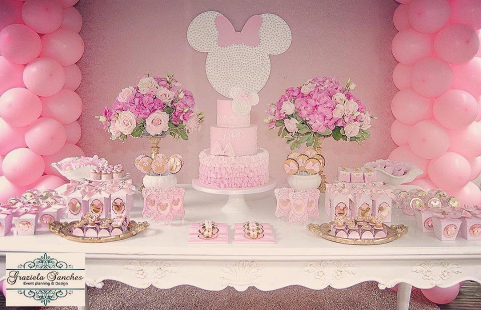 Fiesta De Minnie Mouse Rosa 11 Decoracion De Fiestas