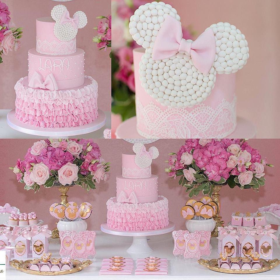 Fiesta De Minnie Mouse Rosa 12 Decoracion De Fiestas