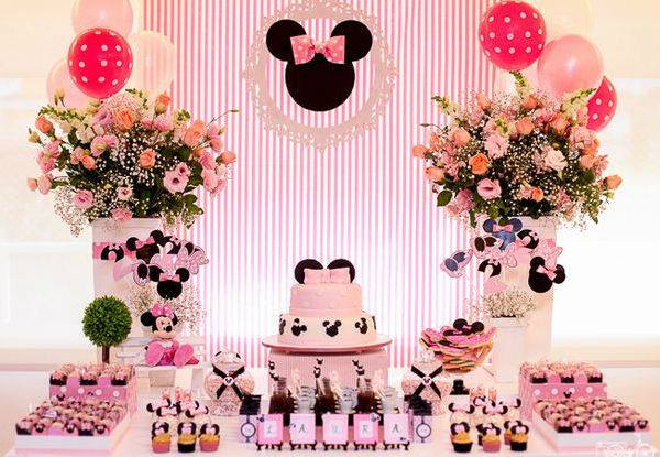 Fiesta De Minnie Mouse Rosa 17 Decoracion De Fiestas