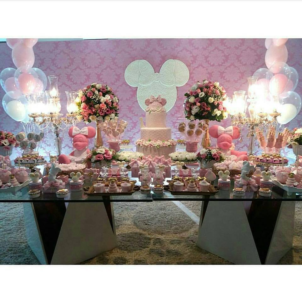 Fiesta de minnie mouse rosa 19 decoracion de fiestas - Decoracion fiesta rosa ...