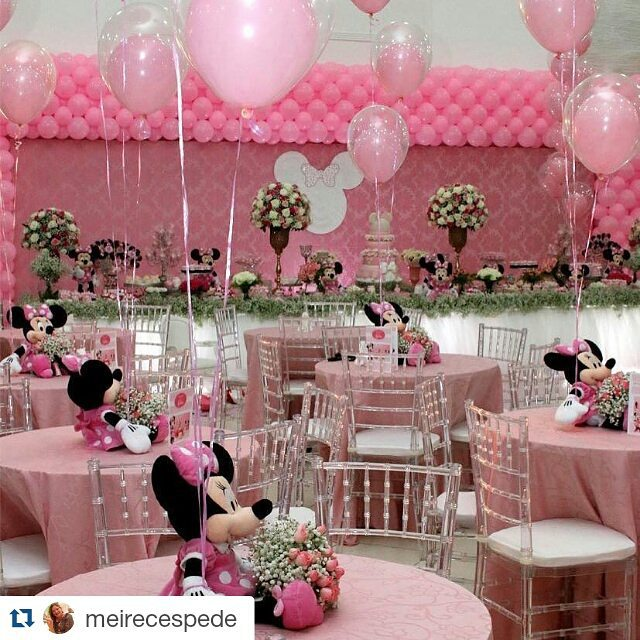 Fiesta de minnie mouse rosa 2 decoracion de fiestas - Decoracion fiesta rosa ...