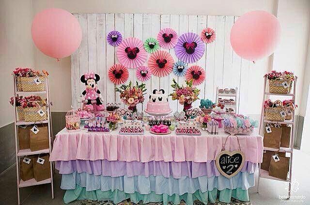 Fiesta de minnie mouse rosa - Decoracion fiesta rosa ...