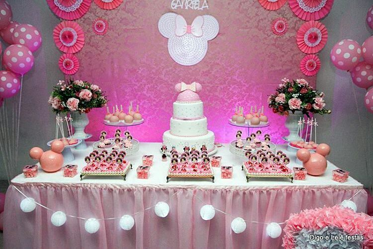 Fiesta de minnie mouse rosa 26 decoracion de fiestas - Decoracion fiesta rosa ...