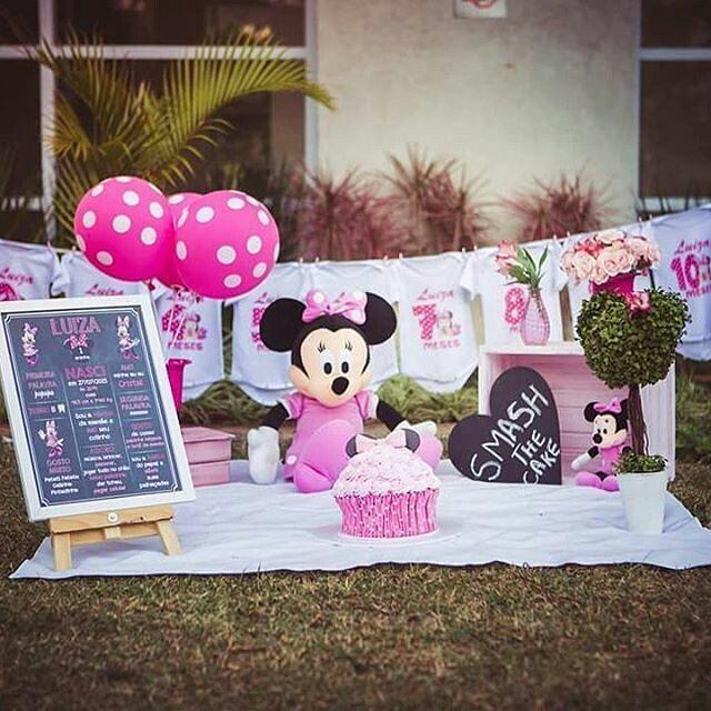 Fiesta De Minnie Mouse Rosa 29 Decoracion De Fiestas