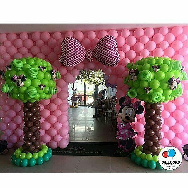Fiesta De Minnie Mouse Rosa 33 Decoracion De Fiestas