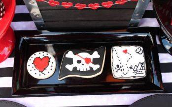 Ideas para fiestas de piratas con corazones