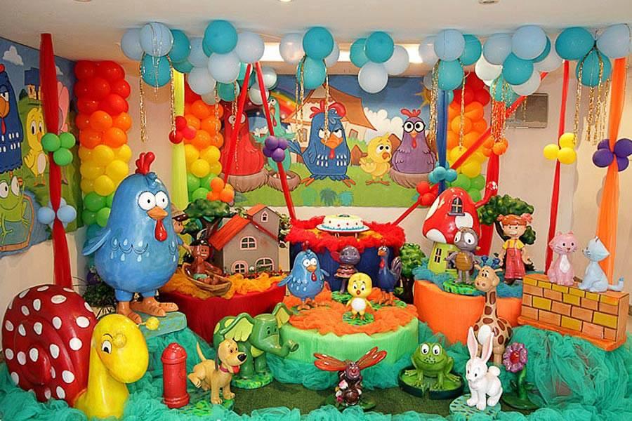 lindas y creativas decoraciones para fiestas infantiles 19