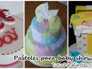 Pasteles para baby shower – Ideas