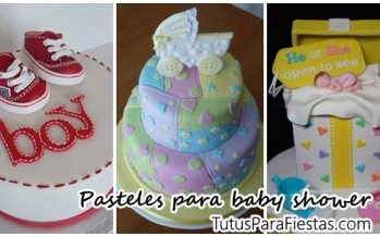 Pasteles para baby shower – Ideas