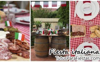 Fiesta tematica Italiana – Italian Trattoria
