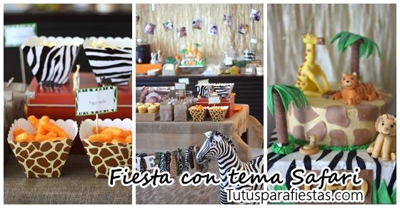 Fiesta Infantil Con Tema Safari Archivos Decoracion De