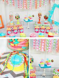 Buffet de Dulces candy bar candy buffet