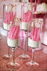 Buffet de Ducandy bar candy buffetlces -Candy bufette