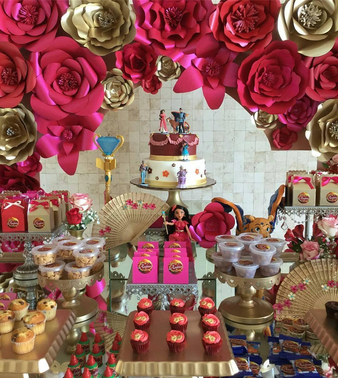 Fiesta de princesa elena de avalor 16 decoracion de - Las mesas fiestas 2017 ...