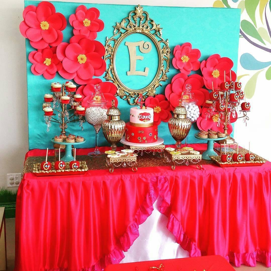 Fiesta de princesa Elena de Avalor (17) - Decoracion de ...