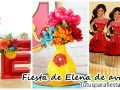 Fiesta de princesa Elena de Avalor