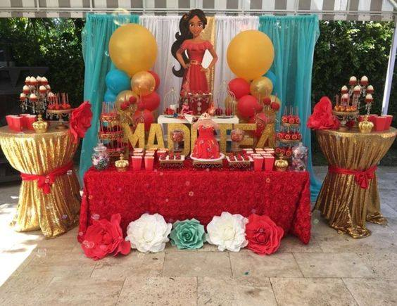 Fiesta de princesa Elena de Avalor (4) - Decoracion de ...