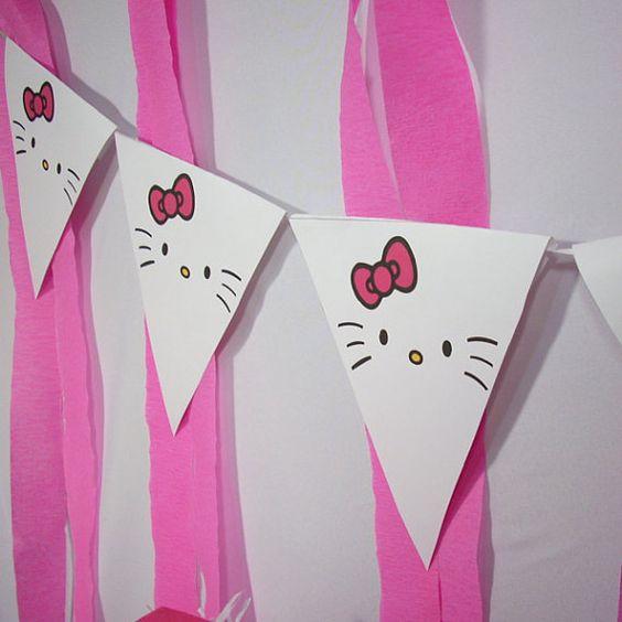 Fiesta infantil con tema de Hello Kitty (12)