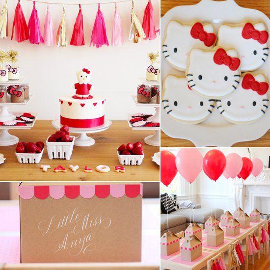 Fiesta infantil con tema de Hello Kitty (15)