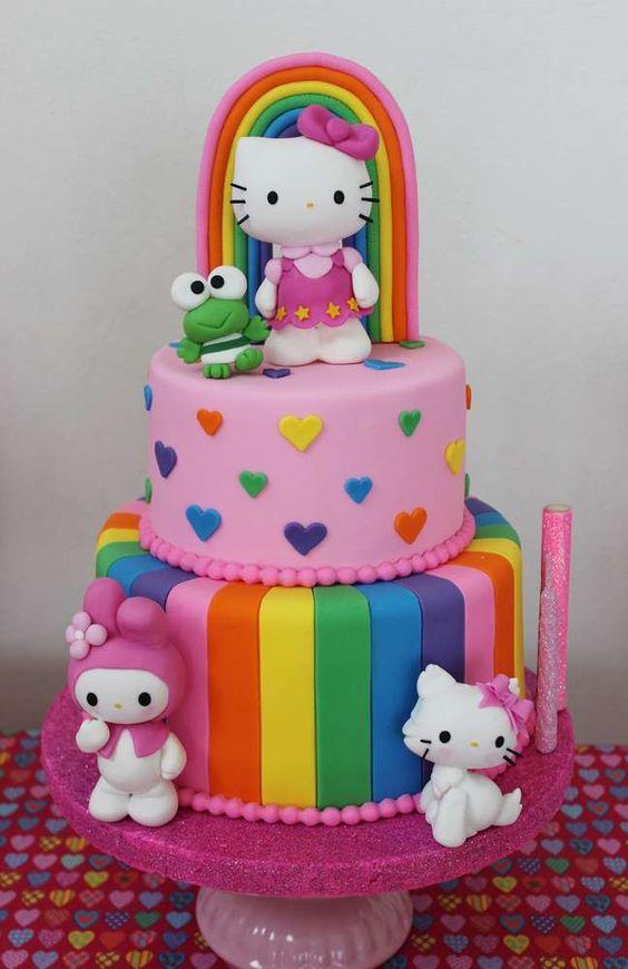 Fiesta infantil con tema de Hello Kitty (2)