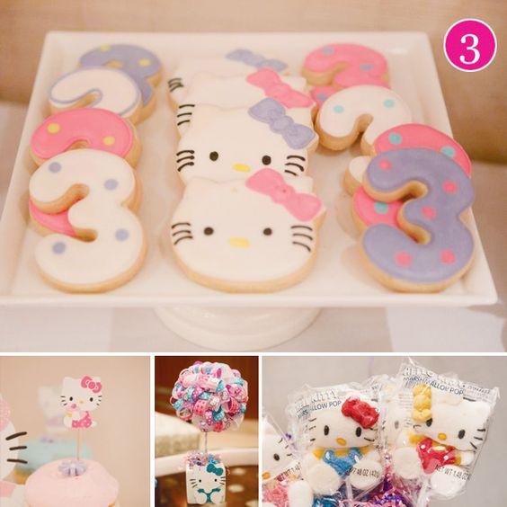Fiesta infantil con tema de Hello Kitty (23)