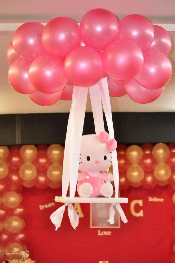 Fiesta infantil con tema de Hello Kitty (25)