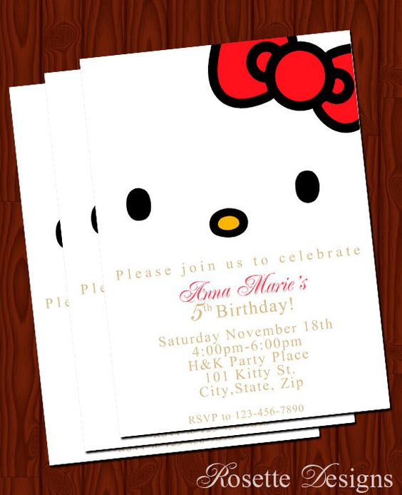 Fiesta infantil con tema de Hello Kitty (4)
