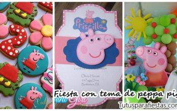 Fiesta infantil con tema de peppa pig
