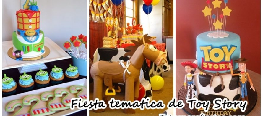 Fiesta infantil tematica de Toy Story