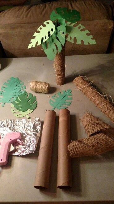 Fiesta Infantil Tematica De Moana Hawaiana 14