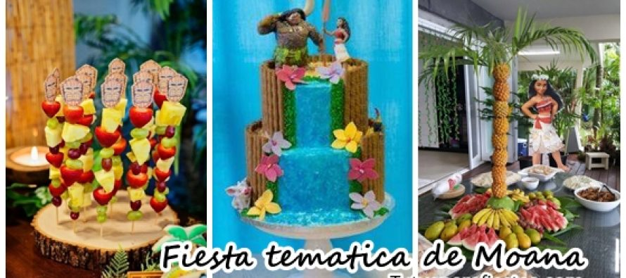 0 · Fiesta infantil tematica de moana hawaiana