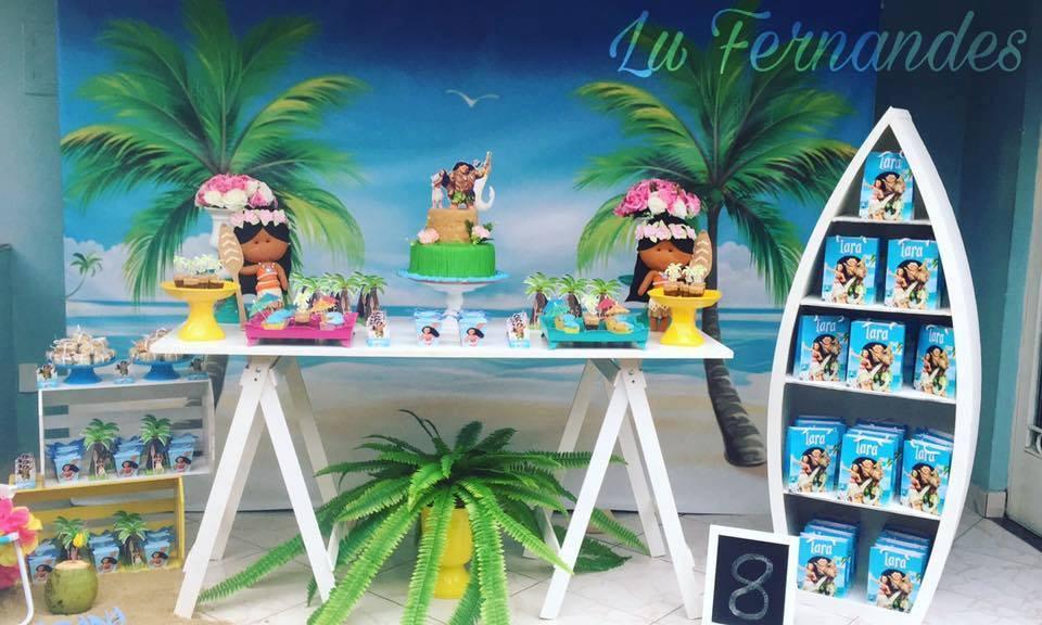 Decoracion moana - Fiesta infantil tematica ...