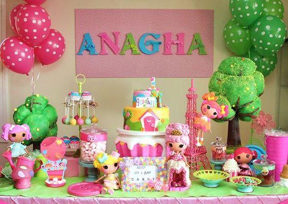 Temas de fiestas infantiles para niñas