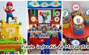 Fiesta tematica de Mario Bros